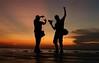 Dancing in the light (Luiz C. Salama) Tags: camera sunset pordosol canon amazon tramonto photographer tropical amazonia