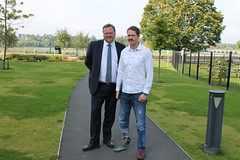 """Stephen Mosley MP meets Peter Bowker from 68 degrees north challenge • <a style=""""font-size:0.8em;"""" href=""""http://www.flickr.com/photos/51035458@N07/14874828540/"""" target=""""_blank"""">View on Flickr</a>"""