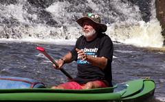 28.8.14 Vyssi Brod Weir 007 (donald judge) Tags: river boats republic czech south canoes bohemia vltava brod kayaks weir rafts vyssi