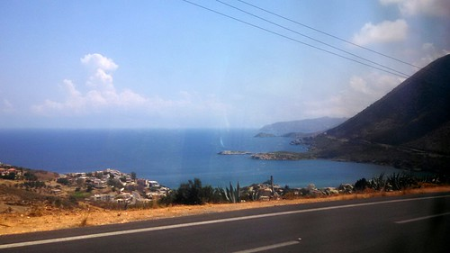 Irakleio-Chania road