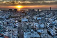 Sunset in Tartous (Sulafa) Tags: sunset sky sun clouds syria   tartous