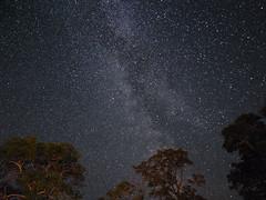 Milky Way Scotland (marcusbentus) Tags: uk mountains way stars landscape lumix scotland panasonic astrophotography loch 12mm universe sutherland milky assynt samyang gx7