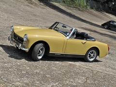 1973 MG Midget (davocano) Tags: brooklands dmr186l