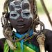 Mursi Tribe girl