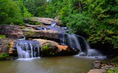 Chau Ram Falls (davidwilliamreed) Tags: longexposure trees nature water waterfall rocks