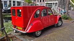 Citron 2CV6 Spcial (sjoerd.wijsman) Tags: auto red holland cars netherlands car wagon break estate nederland thenetherlands citron delft voiture 2cv vehicle holanda autos rood paysbas combi turnier kombi olanda stationwagon fahrzeug niederlande zuidholland carspotting 2cv6 redcars citron2cv estatecar stationcar carspot citron2cv6spcial 2cvspcial 2cv6spcial citron2cv6 lr79yz sidecode4