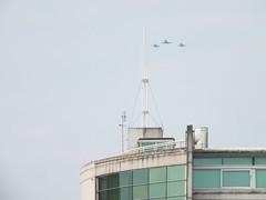 Cardiff Bay flypast for Nato Summit (DJLeekee) Tags: cardiff summit tornado cardiffbay redarrows nato flyby flypast