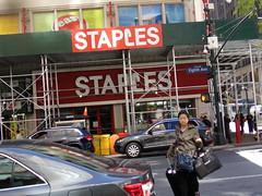 Staples #1574 New York, NY (Coolcat4333) Tags: new york ny ave 500 staples 8th 1574