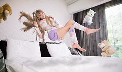 南ことり | Minami Kotori (bdrc) Tags: minami kotori love live cosplay girl alpaca plushie portrait asdgraphy levitation floating tokina 1116 nikki afterbefore mansion studio