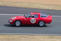 Alfa Romeo TZ1 No. 57 (jbp274) Tags: classic cars race vintage racing alfaromeo lemans automobiles motorsport 24hours tz1 lemanslegend