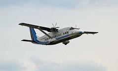 D-CCAS Short 360 Night Express CVT 24-06-2015 (cvtperson) Tags: night airport short express coventry cvt 360300 egbe dccas