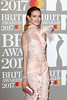 Natalia Vodianova attends The BRIT Awards 2017 at The O2 Arena on February 22, 2017 in London, England. (Photo by John Phillips/Getty Images)
