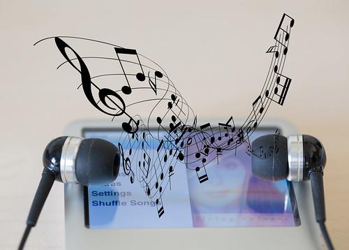 The music In between