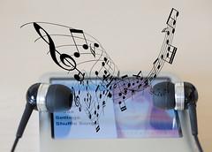 The music In between (Keith Williamson) Tags: music ipod earbuds sennheiser thespaceinbetween macromondays apple