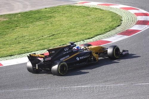 Jolyon Palmer in Formula One Winter Testing 2017