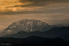 Jbel Kelti - Morocco (Bouhsina Photography) Tags: nuage soleil coucher tétouan souani maroc bouhsina bouhsinaphotography canon 7dii ef70200 couches silhouette 2017 hiver
