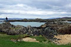 Silversands, Arisaig, Lochaber, Scottish Highlands (HighlandArt13) Tags: silversands camping eigg rum view arisaig mallaig lochaber scottish highlands scotland