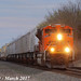 1/3 BNSF 8530 Leads WB Intermodal Wellsville, KS 3-10-17