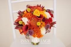 buchet de mireasa portocaliu (IssaEvents) Tags: buchet mireasa nunta valcea issamariage issaevents 2018 portocaliu cale trandafiri albi issa decor sala evenimente bujoreni
