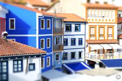 Cudillero (Tilt-Shift) (Pakinho10) Tags: españa asturias cudillero town pueblo tiltshift miniature airelibre outdoor depthoffield profundidaddecampo spain asturies