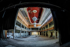 Ballsaal (Batram) Tags: urbex hotel ballroom ballsaal stairs circular wendeltreppe hdr lost place fürstenhof eisenach