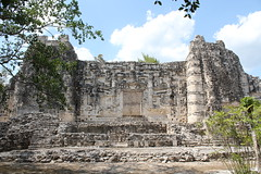 Hormiguero, Structure II (Arian Zwegers) Tags: architecture facade mouth mexico temple site ruins maya towers temples jaws elevated underworld monuments tombs mayas palaces precolumbian rulers campeche lowland hormiguero archaeologicalsite roundedcorners 2013 mayaruins southerngroup mayasite mayacivilization monumentalarchitecture riobec mayaarchitecture externalworld openjaws ancientmaya structureii monstrousmouth lowlandmaya