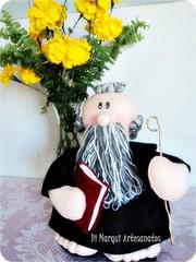 São Bento (anadimarqui) Tags: craft felt bento feltro decoração são santo presente santinho
