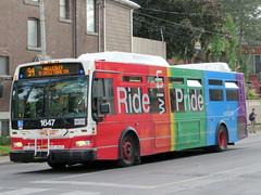 TTC's Pride Bus (Sean_Marshall) Tags: toronto ontario bus ttc pride transit