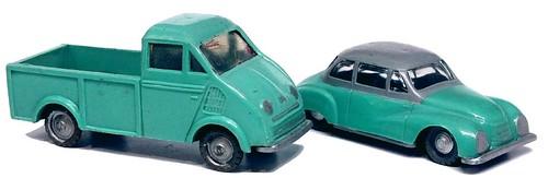 Siku DKW Schnellaster & 3=6