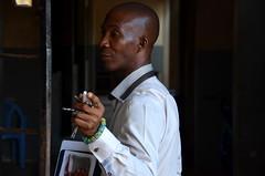 woodworking, non woodworking (michael pollak) Tags: africa man guy teacher ghana woodworking lehrer keta ketasco ghana2014 ghana2014tag4
