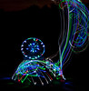 painting with light --- enlightened circle--