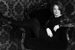 Sofie Sandell studio portrait