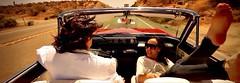 Desert Road (Pennan_Brae) Tags: california buick convertible skylark