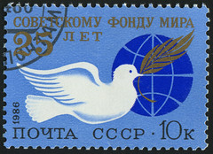 Russia 0893 m (roook76) Tags: world old bird sign vintage emblem globe ancient peace message mail symbol russia map earth pigeon dove retro stamp card sphere soviet envelope planet letter aged geography 1986 russian ussr postmark philately
