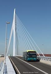 Strak (Maurits van den Toorn) Tags: bridge bus utrecht pont brug ambassador brücke autobus benvanberkel vdl connexxion streekbus tuibrug