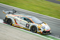 Lamborghini Gallardo Super Trofeo (*AM*Photography) Tags: auto motion car race movement italian automobile racing special exotic lamborghini supercar v10 gallardo motorsport autodromo monza gara bonaldi supertrofeo