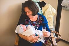 Nana and Logan (Francesca Russell) Tags: birth logan