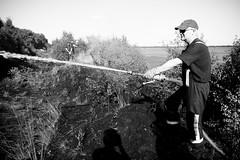 Irlam peat bog fire (Manchesterfire) Tags: summer fire hose peat manchesterfire gmfrs irlamfirestation irlammoss peatmossfire