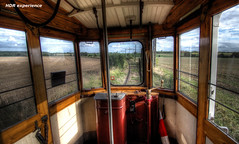 Overland drive (Michis Bilder) Tags: tram