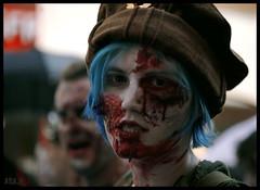 Emma...? (murddoc) Tags: france grenoble dead death zombie mort makeup maquillage isere zombiewalk anap murddoc
