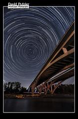 Star I-5 (Dave Putzier) Tags: bridge oregon start river highway i5 over trails eugene springfield willamette
