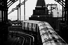Departure--F Train (PAJ880) Tags: nyc bw brooklyn train island f mta coney