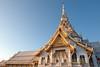 Wat Sothon Wararam Worawihan (atsushi photography) Tags: morning sky architecture thailand temple nikon asia southeastasia religion culture d3 chachoengsao namuang easternregion
