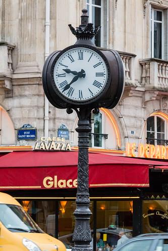 Horloge Quai Saint-Michel