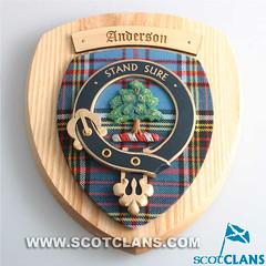 Clan Anderson Crest Plaque