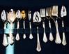silver family (lianebeat) Tags: vintage silverware market antique melrose forks fleamarket spoons melrosetradingpost