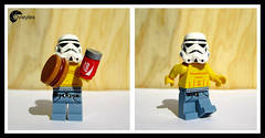 Operacin Bikini! (DVieytes) Tags: summer fun toy toys starwars lego verano stormtrooper minifig juguetes fit juguete minifigure minifigures