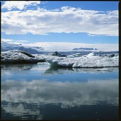 (Tata Vislevskaya) Tags: 6x6 ice iceland jkulsrln glacierlagoon glaciallake hasselblad503cw vatnajkullnationalpark