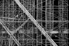 multifold. (jdx.) Tags: park nyc newyorkcity blackandwhite newyork abstract building art monochrome architecture contrast c