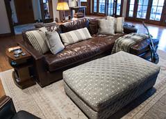 (deanmackayphoto) Tags: door lamp table guitar pillows livingroom couch sofa ottoman renovation decor interiordesign endtable
